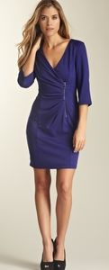 Jessica Simpson Side Zip Ponte Sheath Dress 14